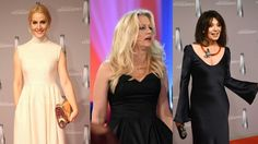 Deutscher Fernsehpreis: Judith Rakers, Barbara Schöneberger, Iris Berben und viele andere deutsche Promi-Damen glänzten auf dem roten Teppich.  (Quelle: imago/dpa)