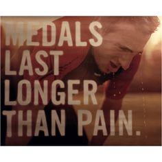 Marathon medals..