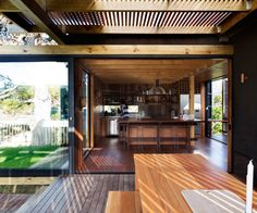 On a show-stopping site near the Whangarei Heads, Herbst Architects create a holiday home for a family of four that could house30 people Design Notebook,Q&A with architects Nicola and Lance Herbst You had a prescribed building platform for this home on the ridge. How did you go about developing the design for it? Lance HerbstWe …