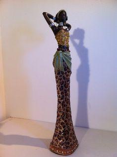 African Woman Statue African Art  African Statue by phantomas2011, $89.99