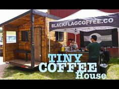Black Flag inspired Tiny House (for Coffee) On Wheels - YouTube
