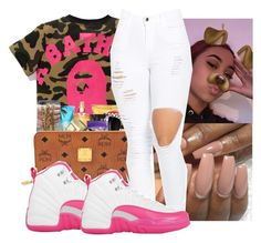 """""""dem 12s """" by daradior ❤ liked on Polyvore featuring GET LOST and NIKE"""