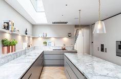 "171 Likes, 11 Comments - Jo Cowen Architects (@jo_cowen_architects_) on Instagram: ""Cook in style at Beltran Road #jocowenarchitects #copper #marble #kitchen #architecture #design…"""