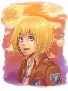 Armin Arlert - armin-arlert Fan Art this lil cutie patooty