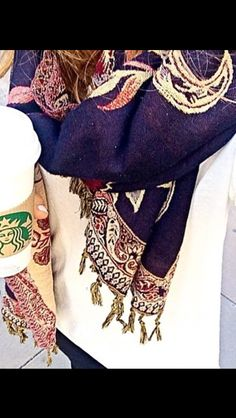 Does anybody know where I can buy that scarf? Help would be really appreciated. :)