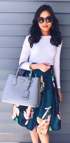Fashionable Work Outfit Ideas To Look Cool - Wardrobe - Fashionable Elegant Summer Outfits, Summer Work Outfits, Casual Work Outfits, Mode Outfits, Office Outfits, Work Attire, Spring Outfits, Chic Outfits, Church Outfit Summer