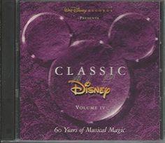 Amazon.com: Classic Disney, Vol. 4: 60 Years of Musical Magic: Music