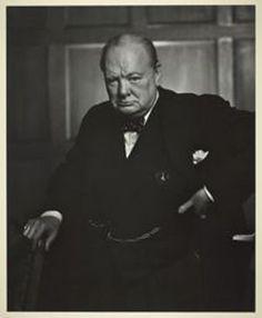 Winston Churchill. Photo by Yousuf Karsch.