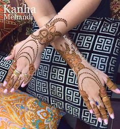 Trendy and Beautiful Bridal Mehndi Designs