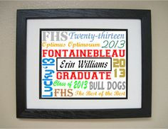 Senior Year Back to School Graduation Gift by TheCraftingCouple