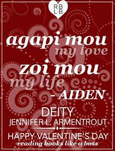 Happy Valentine's Day from some of my FAVORITE book Characters! Aiden St. Delphi from the Covenant Series by Jennifer L. Armentrout