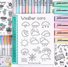 Best Bullet Journal Divider Ideas For 2019 Check out the collection of super cute and easy bullet journal divider ideas! Bullet Journal Titles, Bullet Journal Banner, Bullet Journal Aesthetic, Bullet Journal Notebook, Bullet Journal School, Bullet Journal Easy, Bullet Journal Examples, Lettering Tutorial, Hand Lettering