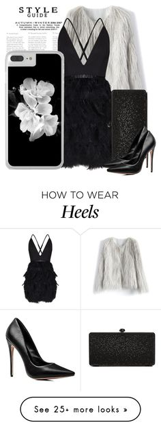 """""""Get The Look: Black Dress"""" by artbyjwp on Polyvore featuring Chicwish and Deux Lux"""