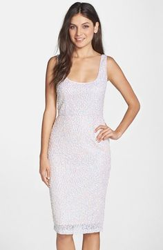 French Connection Sequin Body-Con Dress available at #Nordstrom
