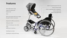 Cursum - Wheelchair Adapted Stroller by Cindy Sjöblom » Yanko Design