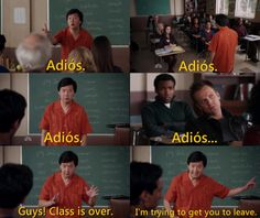 Señor Chang is the best! :D