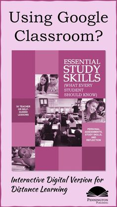 If you use Google Classroom, you can now use the perennial favorite 56 lessons in Essential Study Skills (What Every Student Should Know) in interactive digital format. You, the teacher can edit as you please and students can answer on laptops and tablets. Perfect distance learning. Response To Intervention, Reading Assessment, Formative Assessment, Reading Intervention, Teaching Reading Strategies, Reading Resources, Reading Comprehension, Classroom Resources, Common Core Vocabulary