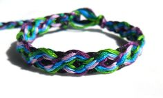 Chinese Braid Friendship Bracelet Tutorial