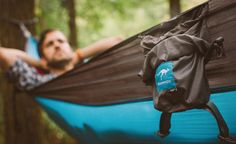 We've featured a few hammocks here in the past, but nothing like the Kammock Roo. This incredibly lightweight, tear resistant, breathable hammock is roomy enough for two and packs down into a small, water-resistant compression sack. Made of Kammock's... #adventure #backpacking #bikepacking