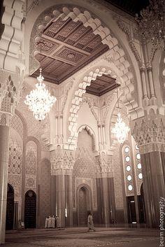 Hassan II Mosque (Grande Mosque) -South Door - Casablanca,Marocco