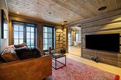 Hafjell - Stor hytte med høy standard under oppføring Settee, Open House, Ski, Home Decor, Modern, Couch, Decoration Home, Room Decor, Skiing