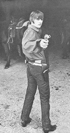 Ringo with Toy Gun