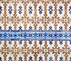 Azulejos antigos no Rio de Janeiro: Catete VII - Rua Correia Dutra - DESTRUÍDO