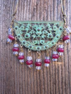 Verdigris Patinaed Brass Join Our Gypsy by elementsinspired
