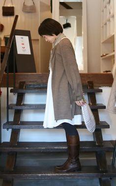 (# mori girl).  Cool stair construction. Mori, Mori Kei, Mori Fashion, Mori Style, Mori Girl,