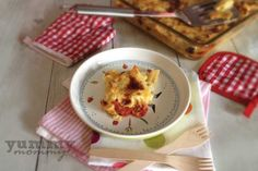 Penne gratin with tomatoes {Πένες ογκρατέν με ντοματίνια} Baby Food Recipes, Cheese, 12 Months, Babies, Gastronomia, Recipes For Baby Food, Babys, Baby, Infants