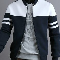 MK988 Mens Solid Color Multi-Pockets Thermal Autumn Winter Thicken Quilted Jacket Coat Outerwear