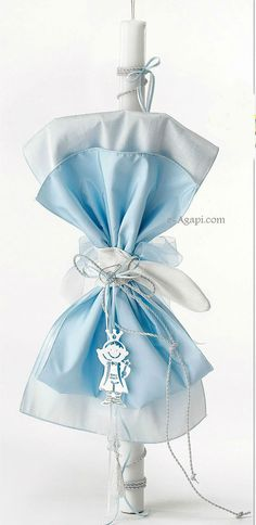 Lambada Little Prince Greek baptism candles - Orthodox christening candles - Blue baptism candles - Baby boy baptism candle Handmade candles Baby Boy Baptism, Baptism Party, Baby Christening, Baptism Candle, Godparent Gifts, Ideas Para Organizar, Small Candles, Handmade Candles, Greek