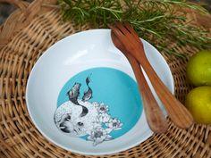 """Emilie Bok tableware collection """"les Yeux dans l'eau"""" : deep plate"""