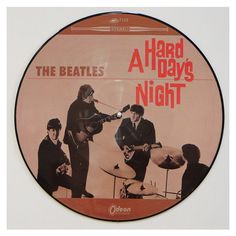 The #Beatles - A #Hard #Day's #Night - #PictureDisc - #vinil #vinilrecords #music #rock #colordisc
