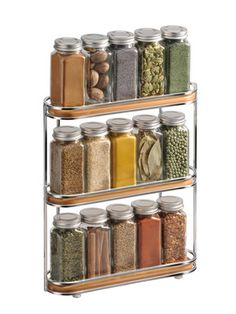 Bamboo Spice Rack by Lynk