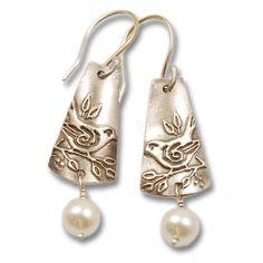 Vickie Hallmark   sparrow earrings