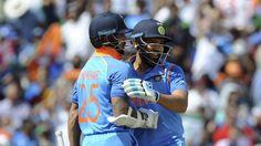 Rohit Sharma, Shikhar Dhawan's performance gave me confidence, says Virat Kohli Shikhar Dhawan, Champions Trophy, Latest Cricket News, Give It To Me, Take That, Mumbai Indians, Virat Kohli, 10 Year Old, Football Helmets