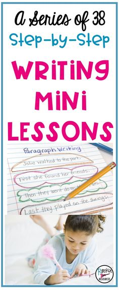 Are you looking for ideas to help your students become successful writers?  This post begins a series of 30+ writing mini lessons for interactive notebooks that has proven to be the best approach to writing effectively. It will provide you with creative ideas to teach students sentence structure, paragraph writing, and the writing process for narrative writing in a step-by-step order that scaffolds and builds upon each other. The ideas are ideal for any writing curriculum and writer's…