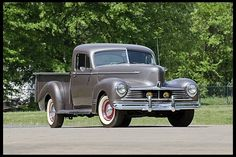 "1945 Hudson Pickup  212 CI, 3-Speed. I want a truck that my 5'0"" wife can load and unload without a ladder."