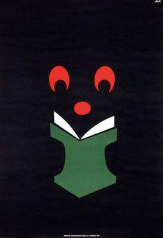 Promotie afbeelding van Dick Bruna voor de zwarte beertjes pockets