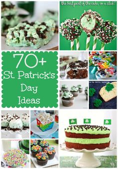 Over 70 St. Patrick's Day Ideas @Ian Hahn for Crust
