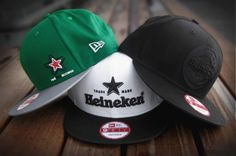 Gorras de Heineken por New Era