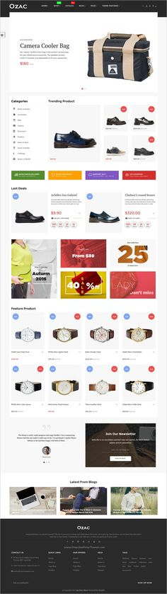 Ap Ozac is a stylish and responsive #Shopify theme for multipurpose #eCommerce websites with 4 unique homepage layouts download now➩ https://themeforest.net/item/ap-ozac-drag-and-drop-shopify-theme/19169147?ref=Datasata
