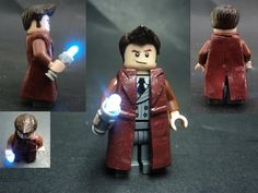 It's a lego Doctor. No... it's a lego TENTH Doctor... no... it's a lego David Tennant... So many levels of awesome. Give it to me.