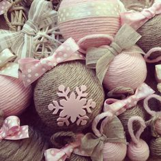 idea for christmas balls ♥