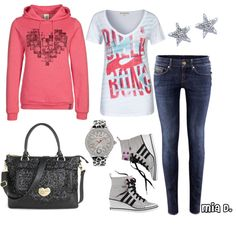 """""""Sporty Style <3"""" by misssglamour on Polyvore"""