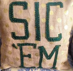 There is no limit to the number of Baylor pillows you should own! #SicEm