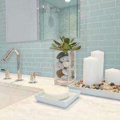 #BathroomHooks Spa Bathroom Decor, Bathroom Counter Decor, Master Bathroom, Brown Bathroom, Bathroom Staging, Elegant Bathroom Decor, Bathroom Countertops, Bathroom Organisation, Grey Bathrooms