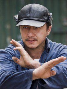 Jackie Chan and kung fu