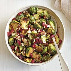 Honey-Roasted Brussels Sprouts | MyRecipes.com